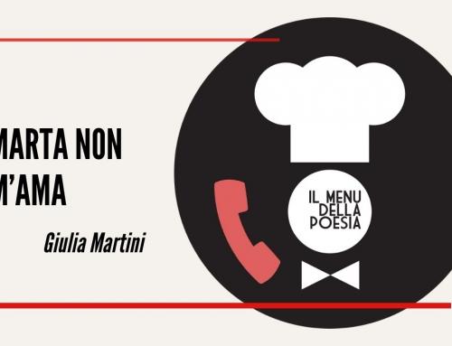 MARTA NON M'AMA di Giulia Martini
