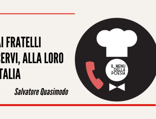 AI FRATELLI CERVI, ALLA LORO ITALIA di Salvatore Quasimodo