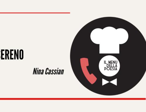 SERENO di Nina Cassian