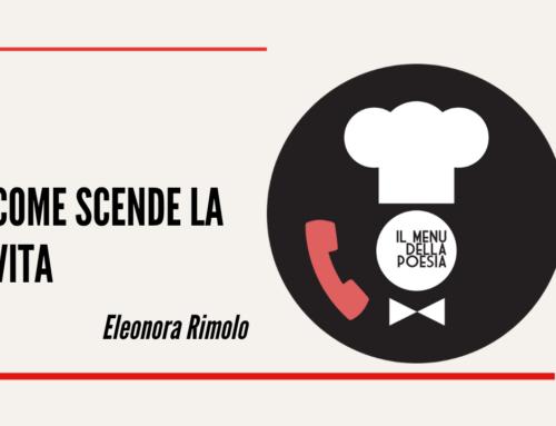 COME SCENDE LA VITA QUESTE SCALE di Eleonora Rimolo