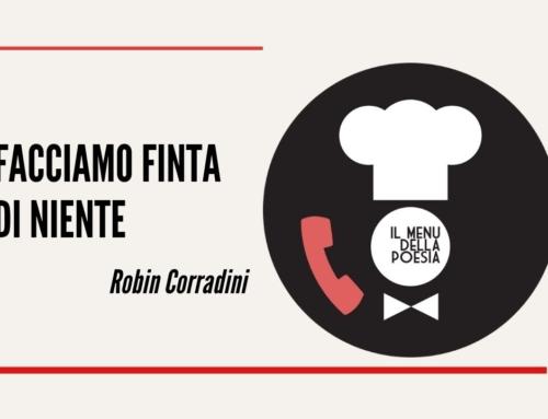 FACCIAMO FINTA DI NIENTE di Robin Corradini