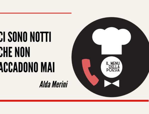 CI SONO NOTTI CHE NON ACCADONO MAI di Alda Merini